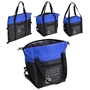 Glacier Convertible Cooler Bag Blue Lunch Cooler, Lunch Cooler Tote, Convertible Cooler, Imprinted, With Logo, promotional products,