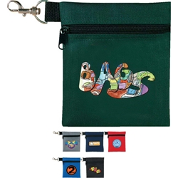 Golf Tee Pouch Golf, Tee, Pouch, Wallet, Holder, Promotional, Imprinted, Polyester, Personalized