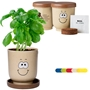 Goofy Group™ Grow Pot Eco Basil Herb Planter | Care Promotions