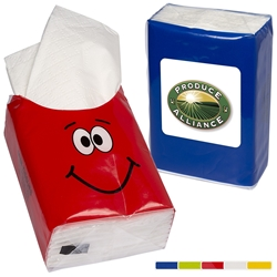 Custom Goofy Mini Tissue Pack | Care Promotions
