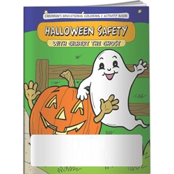 Halloween Safety with Gilbert the Ghost Coloring Book Halloween Safety with Gilbert the Ghost Coloring Book, BetterLifeLine, BetterLife, Education, Educational, information, Informational, Wellness, Guide, Brochure, Paper, Low-cost, Low-Price, Cheap, Instruction, Instructional, Booklet, Small, Reference, Interactive, Learn, Learning, Read, Reading, Health, Well-Being, Living, Awareness, ColoringBook, ActivityBook, Activity, Crayon, Maze, Word, Search, Scramble, Entertain, Educate, Activities, Schools, Lessons, Kid, Child, Children, Story, Storyline, Stories, Holiday, Holidays, Trick or Treat, Candy, Cookies, Strangers, Costumes, Dress Up, Daycare, Grade School, Preschool, Elementary,Imprinted, Personalized, Promotional, with name on it, Giveaway,