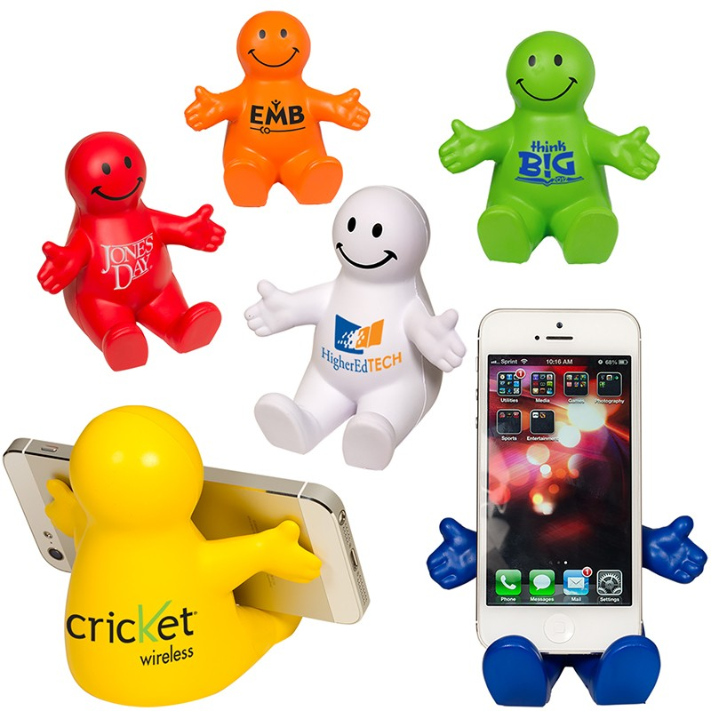 Happy Dude Mobile Device Holder | Care Promotions