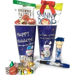 Happy Holidays Employee Appreciation Treat & Gift Set | Care Promotions