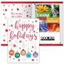Happy Holidays Thanks For All You Do Greeting Card With 2021 Caring Is Always In Season Planner Mailable Calendar, Direct Mail Calendar, Customer Calendar Stick Up, Wall Calendar, Planner, The Positive Line, Business Calendar, Office Calendar, Business Gifts, Corporate Gifts, Sales and Marketing, Sales Meetings, Giveaways, Promotional Calendars, greeting card calendar, holiday greeting card, custom printed greeting card calendar