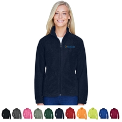 Custom Harriton Ladies 8 Oz. Full Zip Fleece | Care Promotions