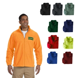 Custom Harriton Mens Full Zip Fleece | Care Promotions