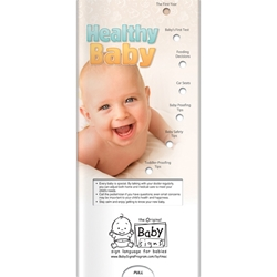Healthy Baby Pocket Slider BetterLifeLine, BetterLife, Education, Educational, information, Informational, Wellness, Guide, Brochure, Paper, Low-cost, Low-Price, Cheap, Instruction, Instructional, Booklet, Small, Reference, Interactive, Learn, Learning, Read, Reading, Health, Well-Being, Living, Awareness, PocketSlider, Slide, Chart, Dial, Bullet Point, Wheel, Pull-Down, SlideGuide, Child, Children, Kid, Adolescent, Juvenile, Teen, Young, Youth, Baby, School, Growing, Pediatrics, Counselor, Therapist, Positive Promotions, The Positive Line, New Mom & Baby
