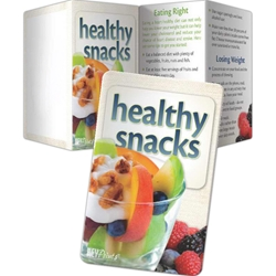 Healthy Snacks Key Points Healthy Snacks Key Points, Pocket Pal, Record, Keeper, Key, Points, Imprinted, Personalized, Promotional, with name on it, giveaway, BetterLifeLine, BetterLife, Education, Educational, information, Informational, Wellness, Guide, Brochure, Paper, Low-cost, Low-Price, Cheap, Instruction, Instructional, Booklet, Small, Reference, Interactive, Learn, Learning, Read, Reading, Health, Well-Being, Living, Awareness, KeyPoint, Wallet, Credit card, Card, Mini, Foldable, Accordion, Compact, Pocket, Food,
