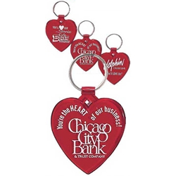 Heart Keytags Heart Keytags, Translucent, Red, Heart Shaped, Heart, Shaped, Key Tag, Keytag, Keyring, Key, Ring, Tag, Imprinted, Personalized, Promotional, with name on it, giveaway