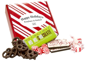 Holiday Heaven Gift Box holiday gifts, holiday food gifts, corporate holiday gifts, gift sets, chocolate gifts, employee appreciation, employee recognition, holiday parties