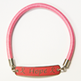 Hope Breast Cancer Awareness Elastic Bracelet hope bracelet, pink ribbon bracelet, breast cancer awareness bracelet, pink ribbon gifts, pink promotional items, breast cancer awareness merchandise, awareness bracelet