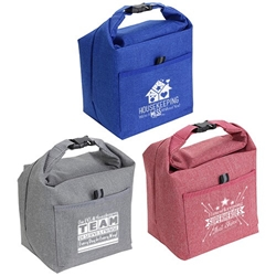 Housekeeping & Environmental Services Roll Top Buckle Insulated Lunch Tote   Housekeeping, Housekeepers, promotional cooler bags, promotional lunch bag, employee appreciation gifts, custom printed lunch cooler, customized lunch bag, business gifts, corporate gifts