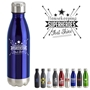 """Housekeeping: Superheroes That Shine"" 17oz. Vacuum Insulated Stainless Steel Bottle  Vacuum Sealed Bottles, Vacuum Top Bottle, Imprinted Vacuum Sealed Bottles, Stainless Steel Vacuum Sealed bottle, Care Promotions,"