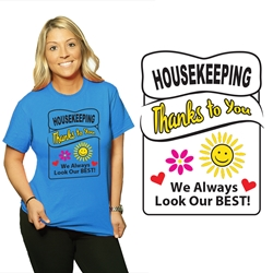 Housekeeping Week Appreciation T-Shirt | Care Promotions