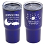 """Housekeeping: You Make Every Moment A Chance To Shinel"" 20 oz Stainless Steel & Polypropylene Tumbler  Housekeeping Theme, Tumbler, Housekeeping Appreciation Tumbler, Housekeeping Travel Tumbler, Appreciation, recognition Gifts, 20 oz tumbler, Imprinted Tumblers, Stainless Steel Tumblers, Care Promotions,"
