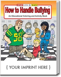 How to Handle Bullying Coloring & Activity Book | Care Promotions