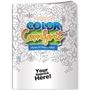 Hues of Happiness (Flowers) Color Comfort Coloring Book Coloring Books for Adults, Stress Relief, Adult Coloring Books