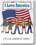 I Love America Coloring & Activity Book | Care Promotions