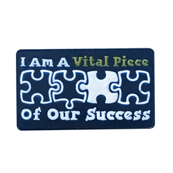 """I am A Vital Piece Of Our Success"" Lapel Pin  Healthcare Recognition Lapel Pin, Care Lapel Pin, Nurses Lapel Pin, Nursing Lapel Pin, Hospital Lapel Pin,"