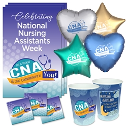 """Im A Proud CNA & My Commitment Is You!"" Celebration Party Pack   Certified Nursing Assistants theme decoration pack, CNA theme Party Pack,  NA theme Party Pack, Nursing Assistants Celebration Pack, Nursing Assistants Appreciation, Week, Certified Nursing theme Celebration Pack"