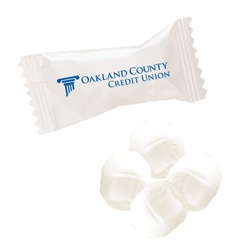 Individually Wrapped White Butter Mints mints, butter mints, buttermints, individually wrapped mints, restaurant mints, party mints, celebration gifts, mint basket, mint bowl