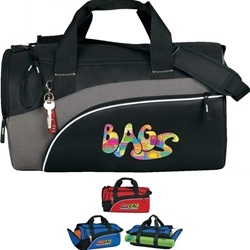 Infinity All-Purpose Duffle Infinity, All-Purpose, Sport, Pack, Deluxe, Duffle, Promotional, Imprinted, Polyester, Travel, Custom, Personalized, Bag