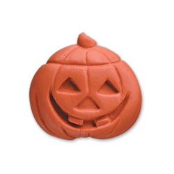 Jack-O-Lantern Pencil Top Eraser halloween promotional items, halloween giveaways, pumpkin promotional items, jack-o-lantern
