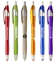 Javalina Spring Stylus Pen javalina pen, Pen, Ballpoint, Plastic, Imprinted, Personalized, Promotional, with name on it, giveaway, black ink, blue ink, promotional pens, custom logo pens, logo pens, pens with logo, custom stylus pen
