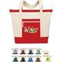 Jumbo Zip Tote All Purpose, Jumbo, Zip, Polyester, Promotional Events, Trade Show Bags, Health Fair, Imprinted, Tote, Reusable, Recognition, Travel