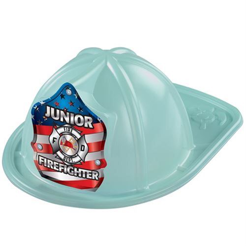 Junior Firefighter Patriotic Glow in the Dark Fire Hat Fire Hat, Kids, Plastic, Junior, Patriotic, USA Made, Red, Fire Prevention, Week, Halloween, fire prevention week, kids fire hat,
