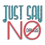 Just Say No To Drugs Temporary Tattoo drug free, safety promotional items, kids safety, anti-drug,red ribbon week, child safety, public safety, community affairs, community outreach