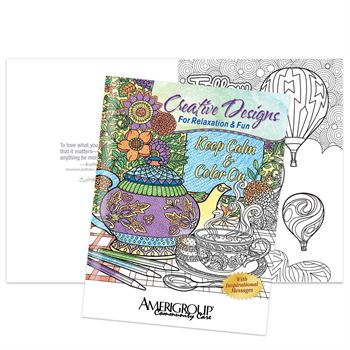 Keep Calm Color On Creative Designs For Relaxation Fun Adult Coloring Book