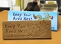 """Keep Your Area Neat, So You'll Stay on Your Feet"" Chocolate Bar Employee Appreciation, Employee Recognition, Safety Incentives, Safety Rewards, Workplace Safety, National Safety Month, Safety Meetings, Safety Snacks, OSHA"
