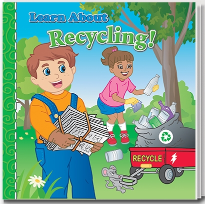 Learn About Recycling Story Book | Care Promotions