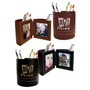 Our Nursing Team: You Make A Difference In So Many Ways! Leatherette Folding Photo Frame Desk Caddy  Nursing Theme Business Gifts, business gifts, desk gifts, pen caddy, photo frame, holiday gifts, corporate holiday gifts, promotional pen holder, desk organizer