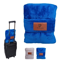 Leeman Duo Travel Pillow Blanket | Care Promotions