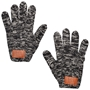 Leeman Heathered Knit Gloves | Care Promotions