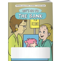 Lets Go to the Bank Coloring Book Lets Go to the Bank Coloring Book, BetterLifeLine, BetterLife, Education, Educational, information, Informational, Wellness, Guide, Brochure, Paper, Low-cost, Low-Price, Cheap, Instruction, Instructional, Booklet, Small, Reference, Interactive, Learn, Learning, Read, Reading, Health, Well-Being, Living, Awareness, ColoringBook, ActivityBook, Activity, Crayon, Maze, Word, Search, Scramble, Entertain, Educate, Activities, Schools, Lessons, Kid, Child, Children, Story, Storyline, Stories, Financial, Debit, Credit, Check, Credit union, Investment, Loan, Savings, Finance, Money, Checking, Cash, Transactions, Budget, Wallet, Purse, Creditcard, Balance, Reconciliation, Retirement, House, Home, Mortgage, Refinance, Real Estate, Bill, Debt, Fraud,