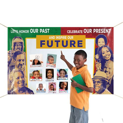 Black History Month Banner | Care Promotions