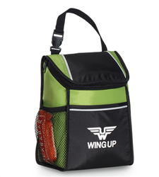 Link Lunch Cooler Link, Lunch Cooler, Lunch Bag, Cooler, Waterbottle pocket Lunch Bag, PVC, Promotional, Imprinted, with name on it, with logo,