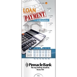 Loan Payment Calculator Pocket Slider BetterLifeLine, BetterLife, Education, Educational, information, Informational, Wellness, Guide, Brochure, Paper, Low-cost, Low-Price, Cheap, Instruction, Instructional, Booklet, Small, Reference, Interactive, Learn, Learning, Read, Reading, Health, Well-Being, Living, Awareness, PocketSlider, Slide, Chart, Dial, Bullet Point, Wheel, Pull-Down, SlideGuide, Financial, Debit, Credit, Check, Credit union, Investment, Loan, Savings, Finance, Money, Checking, Cash, Transactions, Budget, Wallet, Purse, Creditcard, Balance, Reconciliation, Retirement, House, Home, Mortgage, Refinance, Real Estate, Bill, Debt, Fraud, Positive Promotions, the Positive Line