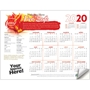 Fire Safety Adhesive Wall Calendar | Care Promotions