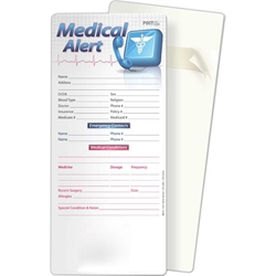 Medical Alert Post Ups/Glancer BetterLifeLine, BetterLife, Education, Educational, information, Informational, Wellness, Guide, Brochure, Paper, Low-cost, Low-Price, Cheap, Instruction, Instructional, Booklet, Small, Reference, Interactive, Learn, Learning, Read, Reading, Health, Well-Being, Living, Awareness, PostUp, Refrigerator, Adhesive, Wall, Sticky, Post-it, Aging, Elderly, Elder, Old, Retirement, Senior, Positive Promotions, The Positive Line, Awareness