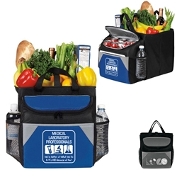 Medical Laboratory Professionals: Were Better At What We Do & Its All Because of You! 12-Pack Cooler Plus Collapsible Cube  Medical Laboratory Week Theme, 12 Pack Cooler Plus Collapsible Cube, Cooler and Trunk Cube, Continental Marketing, Care Promotions, Lunch Bag, Insulated, Barrel, Travel, Employee, Nurses, Healthcare, Staff Gifts