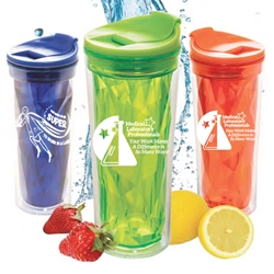 Medical Laboratory Professionals: Your Work Makes A Difference In So Many Ways! Prism Tumblers  Medical Laboratory Professionals theme tumbler, tumbler, crystal style, prism, glacier, tumbler, beverage holder, travel tumbler, drinkware, sporty, promotional products