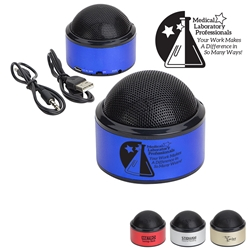 Medical Laboratory Professionals: Your Work Makes A Difference In So Many Ways! Sound Dome Bluetooth Speakers   Bluetooth Mini Speakers,  Bluetooth desk speaker, blue tooth mini speaker, imprinted speakers, bluetooth speaker customized, Care Promotions,