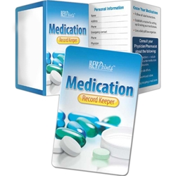 Medication Record Keeper Key Points Medication Record Keeper Key Points, Pocket Pal, Record, Keeper, Key, Points, Imprinted, Personalized, Promotional, with name on it, giveaway,  BetterLifeLine, BetterLife, Education, Educational, information, Informational, Wellness, Guide, Brochure, Paper, Low-cost, Low-Price, Cheap, Instruction, Instructional, Booklet, Small, Reference, Interactive, Learn, Learning, Read, Reading, Health, Well-Being, Living, Awareness, KeyPoint, Wallet, Credit card, Card, Mini, Foldable, Accordion, Compact, Pocket, Aging, Elderly, Elder, Old, Retirement, Senior
