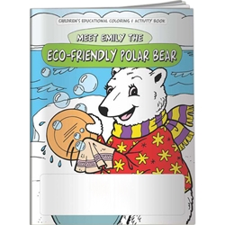 Meet Emily the Eco-Friendly Polar Bear Coloring Book Meet Emily the Eco-Friendly Polar Bear Coloring Book, BetterLifeLine, BetterLife, Education, Educational, information, Informational, Wellness, Guide, Brochure, Paper, Low-cost, Low-Price, Cheap, Instruction, Instructional, Booklet, Small, Reference, Interactive, Learn, Learning, Read, Reading, Health, Well-Being, Living, Awareness, ColoringBook, ActivityBook, Activity, Crayon, Maze, Word, Search, Scramble, Entertain, Educate, Activities, Schools, Lessons, Kid, Child, Children, Story, Storyline, Stories Imprinted, Personalized, Promotional, with name on it, Giveaway,,