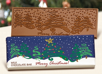 """Merry Christmas"" Chocolate Bar Employee Appreciation, Employee Recognition, Holiday Gifts, Business Gifts, Corporate Gifts, Holiday Parties, chocolate,"