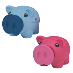 Mini Prosperous Piggy Bank Mini Prosperous Piggy Bank, Mini, Prosperous, bank, Piggy, Imprinted, Personalized, Promotional, with name on it, giveaway,